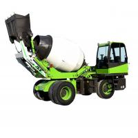 Buy cheap Multifunctional 3.5 M3 Self Loading Concrete Mixer Vehicle / Cement Mixer Truck from wholesalers