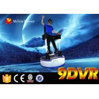 Buy cheap 1 Seat Interactive 9D VR Cinema Simulator Virtual Reality Standing Up Flight Game from wholesalers
