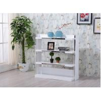 Buy cheap European Style 4 Tier Wooden Shelf / MDF 4 Shelf Storage Unit 1200mm Length from wholesalers