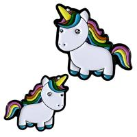Buy cheap Different Kinds Of Unicorn Custom Soft Enamel Pins , Cute Enamel Pins from wholesalers