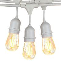 Buy cheap Ip44 Waterproof  Decorative String Lighting / Filament Bulb String Lights from wholesalers