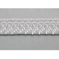 Buy cheap Retro Floral Venice Trim Edging Border Polyester Lace Ribbon For Bridal Gown from wholesalers