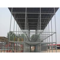 Buy cheap Concrete steel frame formwork scaffolding roof system / need no couplers timbers from wholesalers