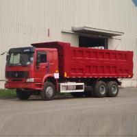 Buy cheap ZZ3255N3646B1 LHD 10 Wheels Heavy Duty Dump Truck Euro 2 Standard Sinotruk Howo Dump Truck from wholesalers