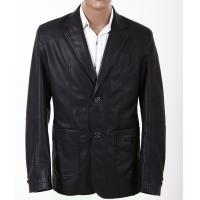Buy cheap Size 50, Black / Yellow / Dark Red, Classic and Fashionable Mens Leather Suits product
