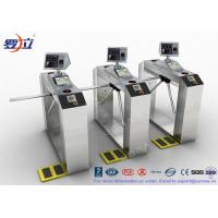 Buy cheap TCP / IP Door Security Access Control Turnstiles RFID Automatic Tripod Turnstile product