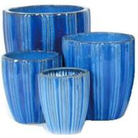 Buy cheap Times Ceramic Outdoor Ceramic Terracotta Pots Planters GW8861 Set 4 from wholesalers