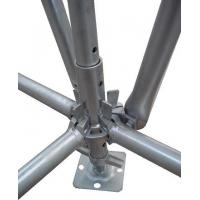 Buy cheap Hot Dip Galvanized Dynamic Vertical Ring Lock Scaffold Standard For High Building from Wholesalers
