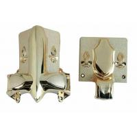 Buy cheap Shining Gold Color Casket Corners , Coffin Decor Gross Weight 22kg Customized Shape from wholesalers