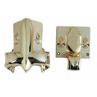 Shining Gold Color Casket Corner 2# LG Casket Decoration And Handles
