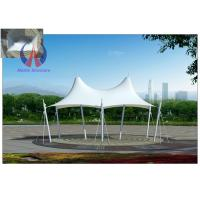 Buy cheap Crown Shape Colorful Cover Tensile Fabric Structures Tarp Buildings For Outdoor Sun Shade from Wholesalers