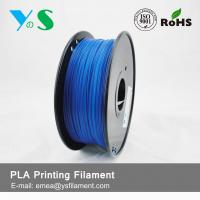 Buy cheap 1.75mm Fluorescent Blue PLA 3D Printer Filament For Desktop 3D Printer product