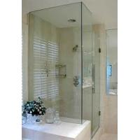Buy cheap sliding opennng free standing glass shower enclosure from wholesalers