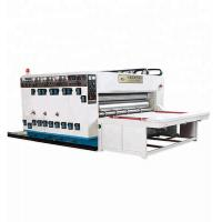 Buy cheap Chain Feeding Printing Slotting Die Cutting Machine , Flexo Corrugated Machine from wholesalers
