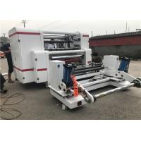 Buy cheap PET OPP CPP Label Slitter Rewinder Machine 400 M/Min Max Rewinding Speed from wholesalers