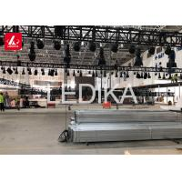 Buy cheap Unique Aluminum Square Truss Structure , Event Stage Lights Exhibition Truss from wholesalers