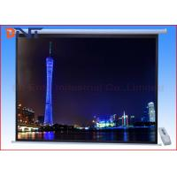 Buy cheap Motorized Projection Projector Screen , 150 Inch Projector Screen With CE Approved from wholesalers