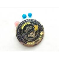 Buy cheap New Saint Michael Boston Police Commemorative Challenge Coin Collection Metal Coin from wholesalers
