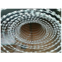 Buy cheap China Manufacture Hot Dipped Galvanized Concertina Razor Barbed Wire  BTO-22 CBT-65 from wholesalers