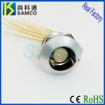 Buy cheap ZGG 90 Degree Elbow Socket IP68 Waterproof Metal Circular Push Pull Self-Latching Connect from wholesalers