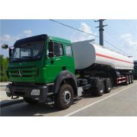 Buy cheap Beibei / HOWO Tractor Truck + 3 axle 42000L 45000 L 50000 L Oil Tanker / Fuel Tank Truck Trailer from wholesalers