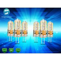 Buy cheap Dimmable G4 Light Bulb LED Corn Crystal Lamp Lighting Silicone Body 95Lm / W from wholesalers