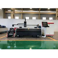 Buy cheap Enclosed Workstation Fiber Laser Tube Cutting Machine With 1.0 KW / 2.0 KW Laser Resonator from wholesalers