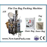 Buy cheap Tea bag packing machine with thread and tag for herbal tea from wholesalers