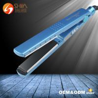 Buy cheap pro nano titanium 1/4 inch private label 450 degrees flat iron babyliss hair straightener from wholesalers