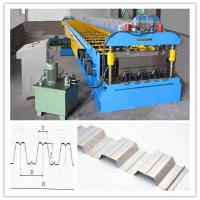 Buy cheap Chain Drive System Floor Deck Roll Forming Machine For Galvanized Cold  Steel Sheet from wholesalers