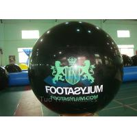 Buy cheap Custom Printed Helium Balloons Black Helium Spheres With Logo from wholesalers
