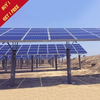 Buy cheap Tidal Flat Type Customized Solar Panel Ground Mounting Systems Hot Dip Galvanizing from wholesalers