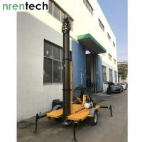Buy cheap 30m Lockable Pneumatic Telescopic Mast-15kg payload for mobile antenna / mobile radio broadcasting-NR-4400-30000-15L from wholesalers