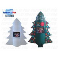 Buy cheap Auto-pop up Display Stand Christmas Tree Shaped POS with 2 Trays for Sale Calendars 15 Days to Deliver from wholesalers