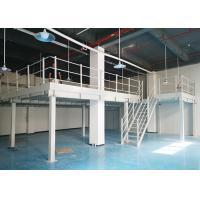 Buy cheap Long Span Heavy Duty Weight Capacity Steel Structure Mezzanine Platform Floor from wholesalers