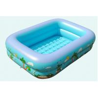 Buy cheap Family and Kids Inflatable Rectangular Inflatable Pool Children Play Pool Children's Inflatable Pool Baby Swimming Pool from wholesalers