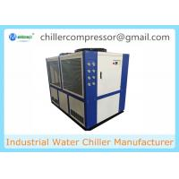 Buy cheap +5C~+35C Industrial Air Cooled Water Chiller Machine For Plastic Injection from wholesalers