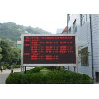 Buy cheap Single Color LED Message Board P10 Outdoor , Programmable LED Signs from wholesalers