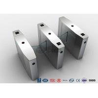 Buy cheap Stainless Steel Heavy Duty Flap Barrier Gate Automatic Turnstiles For Public from wholesalers