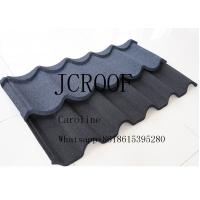 Stone Coated Steel Shingles Water Resistance 1340x420mm for Row Houses