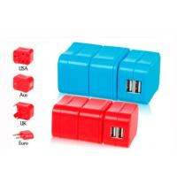 Buy cheap Removable Combined European Travel Adapter Plug With Usb Power Outlet from wholesalers