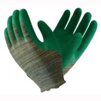 Buy cheap Elastic Latex Work Gloves , Latex Palm Coated Gloves Customized Color from wholesalers
