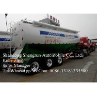 Buy cheap Carbon Steel Cement Semi Trailer For Dry Bulk Cement Powder Transport from wholesalers