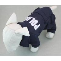 2015 Dog Pet Cat Sweater Hoodie Coat Jacket POLICE Puppy Clothes