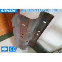 Buy cheap 5 - 15 m / min Crash Barrier Metal Forming Equipment Cr12 Mould Material product