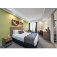 Buy cheap Simple Design Hotel Bedroom Furniture Sets with Laminate Finish from wholesalers
