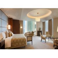 2017 Modern Hotel Bedroom Furniture Kingsize Bed Sets Wooden For 5 Star