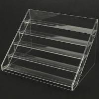 Buy cheap 13 Years Factory Clear Acrylic Nail Polish Table Display Rack / Acrylic Nail Polish stand from wholesalers