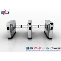 Buy cheap High Speed Glass Swing Barrier Gate Retractable With UHF RFID Reader product