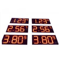 China Outdoor 16'' Led Fuel Price Signs , Led Gas Price Display Waterproof on sale